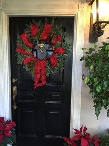 Custom Christmas Wreath Designs